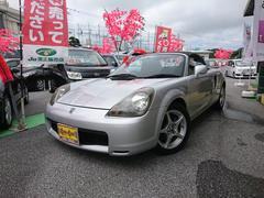 沖縄の中古車 トヨタ MR−S 車両価格 49万円 リ済別 平成12年 9.3万K シルバー
