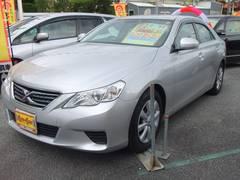 沖縄の中古車 トヨタ マークX 車両価格 108万円 リ済別 平成23年 7.3万K シルバーM