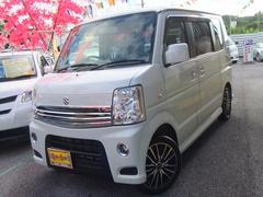 沖縄の中古車 スズキ エブリイワゴン 車両価格 98万円 リ済別 平成22年 6.8万K パールホワイト