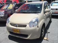 沖縄の中古車 トヨタ パッソ 車両価格 53万円 リ済別 平成22年 5.2万K ライトゴールド