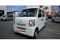 沖縄の中古車 マツダ スクラム 車両価格 55万円 リ済込 平成23年 7.2万K ホワイト