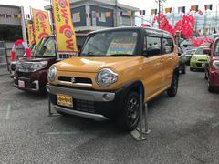 沖縄の中古車 スズキ ハスラー 車両価格 134万円 リ済込 平成29年 9K イエロー