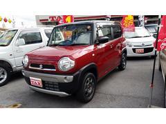 沖縄の中古車 スズキ ハスラー 車両価格 136万円 リ済込 平成29年 2K レッドII