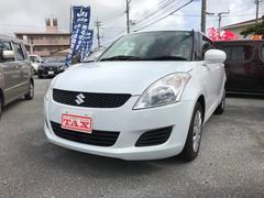 沖縄の中古車 スズキ スイフト 車両価格 69万円 リ済別 平成24年 7.1万K パール