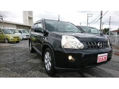 沖縄の中古車 日産 エクストレイル 車両価格 118万円 リ済込 平成21年 8.1万K ブラック