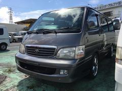 沖縄の中古車 トヨタ ハイエースワゴン 車両価格 75万円 リ済込 平成12年 15.6万K グレーM