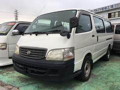 沖縄の中古車 トヨタ ハイエースワゴン 車両価格 73万円 リ済込 平成14年 14.2万K ホワイト
