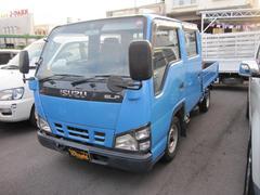 沖縄の中古車 いすゞ エルフトラック 車両価格 138万円 リ済込 平成17年 13.0万K ブルー