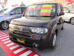 沖縄の中古車 日産 キューブ 車両価格 68万円 リ済込 平成23年 8.2万K ビターショコラP