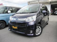 沖縄の中古車 スバル ステラ 車両価格 68万円 リ済込 平成24年 7.5万K ダークブルーM