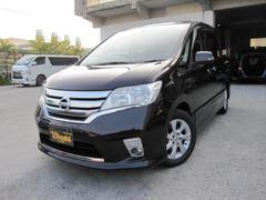 沖縄の中古車 日産 セレナ 車両価格 124万円 リ済込 平成24年 9.1万K パープルM