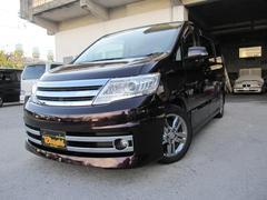 沖縄の中古車 日産 セレナ 車両価格 88万円 リ済込 平成21年 8.0万K ダークパープルM