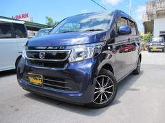 沖縄の中古車 ホンダ N−WGN 車両価格 74万円 リ済込 平成25年 8.7万K ダークブルーM