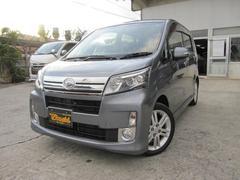 沖縄の中古車 ダイハツ ムーヴ 車両価格 88万円 リ済込 平成25年 7.3万K グレーM