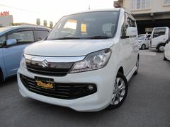 沖縄の中古車 スズキ ソリオバンディット 車両価格 97万円 リ済込 平成25年 7.1万K パールホワイト