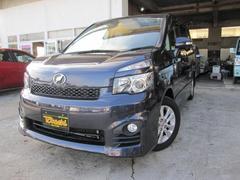 沖縄の中古車 トヨタ ヴォクシー 車両価格 114万円 リ済込 平成22年 9.2万K ダークブルーM