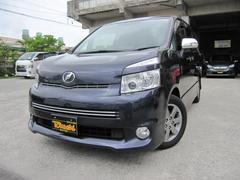 沖縄の中古車 トヨタ ヴォクシー 車両価格 114万円 リ済込 平成22年 9.1万K ダークパープル