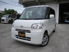 沖縄の中古車 ダイハツ タント 車両価格 64万円 リ済込 平成24年 7.3万K ホワイト