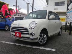 沖縄の中古車 ダイハツ ミラジーノ 車両価格 38万円 リ済込 平成19年 12.5万K パールホワイトI