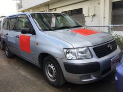 沖縄の中古車 トヨタ サクシードバン 車両価格 38万円 リ済込 平成24年 19.5万K シルバー