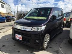 沖縄の中古車 スズキ ワゴンRスティングレー 車両価格 43万円 リ済込 平成23年 11.8万K パープル