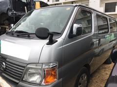 沖縄の中古車 日産 キャラバンコーチ 車両価格 35万円 リ済込 平成19年 31.2万K シルバーM