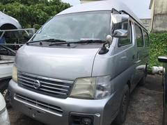 沖縄の中古車 日産 キャラバンコーチ 車両価格 30万円 リ済込 平成14年 11.1万K ダイヤモンドシルバーM
