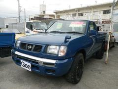 沖縄の中古車 日産 ダットサントラック 車両価格 95万円 リ済込 平成13年 12.8万K ブルー