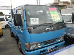 沖縄の中古車 いすゞ エルフトラック 車両価格 115万円 リ済込 平成15年 16.7万K ブルー