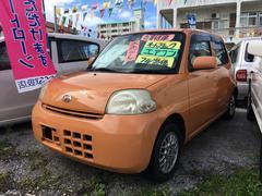 沖縄の中古車 ダイハツ エッセ 車両価格 18万円 リ済込 平成18年 13.0万K オレンジM
