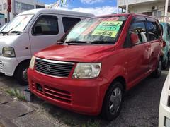 沖縄の中古車 三菱 eKワゴン 車両価格 9万円 リ済込 平成17年 11.0万K レッドソリッド