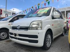 沖縄の中古車 ダイハツ ムーヴ 車両価格 12万円 リ済込 平成17年 15.7万K ホワイト