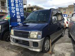 沖縄の中古車 ダイハツ ムーヴ 車両価格 19万円 リ済込 平成10年 9.2万K ブルーII