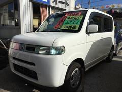 沖縄の中古車 ホンダ ザッツ 車両価格 16万円 リ済込 平成17年 12.1万K タフタホワイト