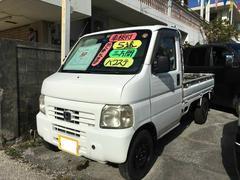 沖縄の中古車 ホンダ アクティトラック 車両価格 19万円 リ済込 平成11年 15.8万K ホワイト