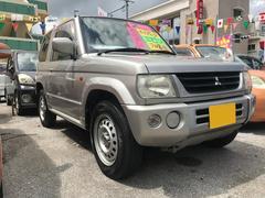 沖縄の中古車 三菱 パジェロミニ 車両価格 14万円 リ済込 平成15年 9.4万K シルバーM