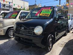沖縄の中古車 ダイハツ ムーヴラテ 車両価格 13万円 リ済込 平成18年 11.3万K ブラックマイカ
