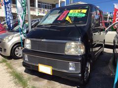 沖縄の中古車 ダイハツ アトレーワゴン 車両価格 19万円 リ済込 平成12年 8.5万K ブラックメタリック