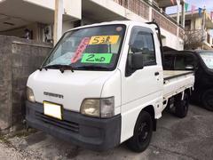 沖縄の中古車 スバル サンバートラック 車両価格 19万円 リ済込 平成11年 15.0万K ホワイト