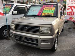 沖縄の中古車 ダイハツ ネイキッド 車両価格 15万円 リ済込 平成14年 13.9万K ゴールドM