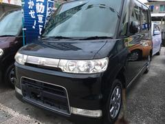 沖縄の中古車 ダイハツ タント 車両価格 21万円 リ済込 平成18年 16.7万K ブラックマイカ