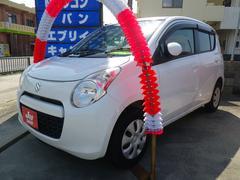 沖縄の中古車 スズキ アルト 車両価格 35万円 リ済込 平成23年 9.6万K ホワイト
