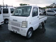 沖縄の中古車 スズキ キャリイトラック 車両価格 29万円 リ済込 平成14年 17.9万K ホワイト