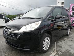 沖縄の中古車 ホンダ ステップワゴン 車両価格 39万円 リ済込 平成17年 11.1万K ブラック