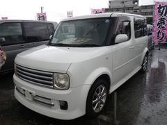 沖縄の中古車 日産 キューブキュービック 車両価格 24万円 リ済込 平成15年 10.7万K パール
