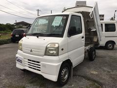 沖縄の中古車 三菱 ミニキャブトラック 車両価格 39万円 リ済込 平成11年 10.8万K ホワイト