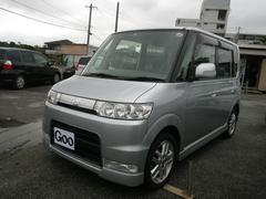 沖縄の中古車 ダイハツ タント 車両価格 39万円 リ済込 平成18年 12.7万K シルバー