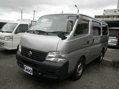沖縄の中古車 日産 キャラバン 車両価格 39万円 リ済込 平成15年 15.0万K シルバー