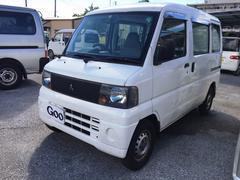 沖縄の中古車 三菱 ミニキャブバン 車両価格 29万円 リ済込 平成17年 12.6万K ホワイト