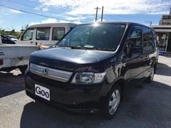 沖縄の中古車 ホンダ モビリオスパイク 車両価格 34万円 リ済込 平成20年 8.8万K ブラック